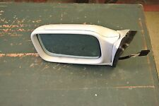 1989 BMW 325i Left Side View Mirror White Electric 4 pin