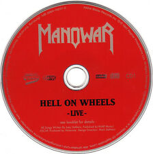 Manowar ‎– Hell On Wheels (Live) 3984-14257-2,  2 × CD, Europe, FREE SHIPPING