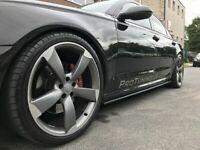 P-Performance Minigonne Laterali Lato Sottogonna Lame Addons Valanches Audi A7