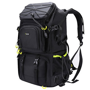 Endurax Extra Large Camera DSLR/SLR Backpack For Outdoor Hiking Trekking With