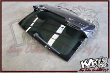 Tailgate GLASS & Lip Spoiler Upgrade - Porsche Cayenne GTS 9PA V8 Parts - KLR