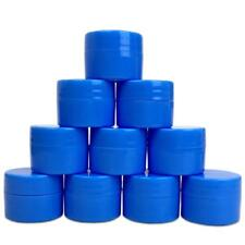 12 Pieces 7G/7ML Blue Thick Cosmetic Sample Container Jars with Lid BPA Free