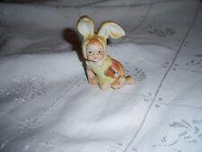 Vintage Sugar Baby Figurine ~ Bunny Ears ~ Pat. 16877 ~ Made In Japan