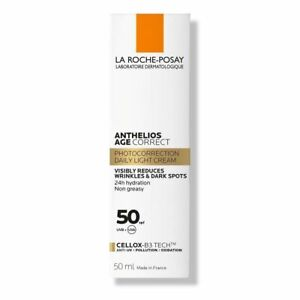 La Roche Posay Anthelios Age Correct Visibly Reduces Wrinkles&Dark Spots Spf 50