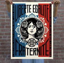 Obey Marianne: L'Action Vaut Plus Que Les Mots Print LE 650 Confirmed Order