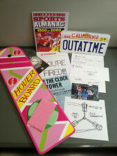 Marty Mcfly Costume Props Back to the Future Hoverboard Sports Almanac Set BTTF