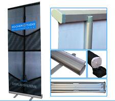 Roll-Up Banner 100 cm x 200 cm, 6 Stück