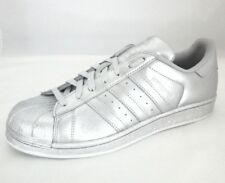 ADIDAS ORIGINALS SUPERSTAR Clamshell RARE Shoes Womens SILVER BB8139 US 8 EU 40