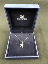 SWAROVSKI Silver MAGIC WISHING STAR Pendant Rhodium Plated 16.5'' Necklace