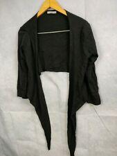 Marks And Spencers Size 14 Cardigan Jumper Black
