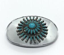 Raintree of CA Faux Turquoise Cluster Southwest Style Belt
