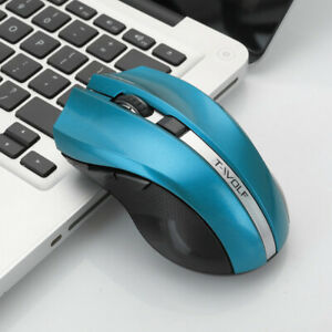 T-WOLF Q5 2.4GHz Wireless Silent Gaming Adjustable Mouse 1800DPI