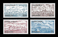 Moldova 1998 Architecture Fortress, Forts, Castles 4 MNH