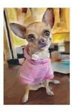 """Chihuahua Dog Double Sided All Weather Garden Flag 12 X18"""" Robert Mcclintock Art"""
