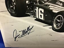 Indy 500 JIM MALLOY HAND SIGNED 8x10 Promo Photo STORED FOR YEARS