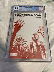 THE WALKING DEAD #163 SKYBOUND MEGABOX EDITION CGC GRADED 9.8