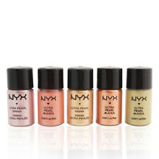 6 NYX Loose Ultra Pearl Eyeshadow Pigment Set NEW