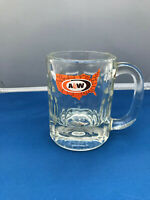 "A & W Root Beer Mug USA logo 4 1/2"" tall"