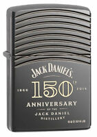 Zippo Jack Daniels 150th Anniversary Deep Carved Lighter, 29189, New In Box
