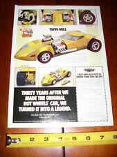 TWIN MILL HOT WHEELS LEGEND - ORIGINAL 1998 AD