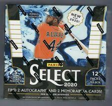 2020 Panini Select бейсбол в заводской упаковке хобби коробка
