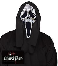 Fun World 25th Anniversary Ghost Face Adult Mask- Most Adults
