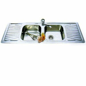 Double Bowl Sink / Double Drainer