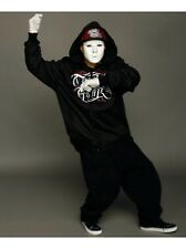 White Full Face Jabbawockeez Dance Crew Plastic MAsquerade Costume Mask Prop