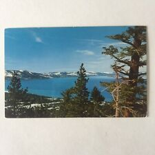 Lake Tahoe Heavenly Valley Unposted Postcard
