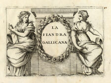Antique Print-FRANCE-FLANDERS-TITLE PAGE-Coronelli-1706