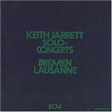"KEITH JARRETT ""SOLO CONCERTS"" 2 CD JAZZ NEU"
