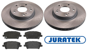 For Honda - Civic 1.8i-VTEC 2.2 CDTi Type S 2006-2011 Front Brake Discs and Pads