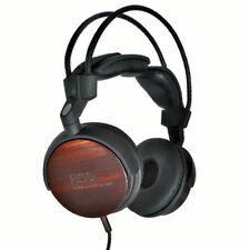 ESS Speaker Labs ESS-RLM-713 Real Ebony Wood Premium High End Headphones Natural