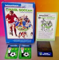 NASL Soccer  -  Intellivision Cartridge Box Manual Tested Complete