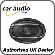 "Pioneer TS-A6970F - 6"" x 9"" 600W Max Power 5 Way Coaxial Car Door Shelf Speakers"