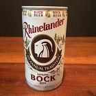 Vintage Pull Tab Rhinelander Genuine Bock Beer Can c. 1970s