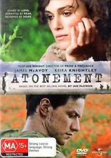 Atonement - Drama / Romance / Thriller - James McAvoy, Keira Knightley - NEW DVD