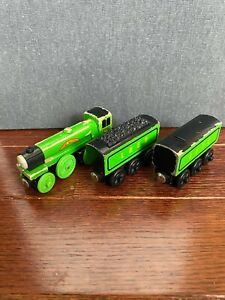 RARE Thomas Wooden Railway Flying Scotsman USED