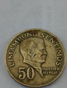 1967 Republika NG Philipinas 50 Sentimos