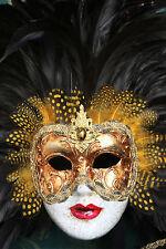 SPLENDIDA maschera veneziana carnevale party tela #17 Muro da Appendere Foto Art A1