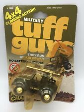 Vintage Military Tuff Guys Toy Car Jeep Vehicle 4x4 Climbing Stomper 1982 MOC