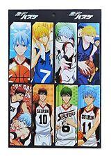 Kuroko no Basuke Anime 8pc Bookmark Set