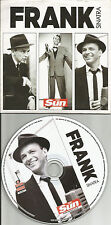 FRANK SINATRA BEST of Greatest Europe Made LIMITED NEWSPAPER PROMO CD USA seller