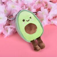 1Pcs Avocado Cute Plush Toy Backpack Keychain Doll Backpack Pendant KeychaQA