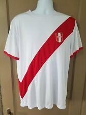 Peru Soccer Jersey Peruvian Camiseta Peruana -  100% ORIGINAL FPF Umbro L oficia