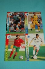 Panini WM 1998 Frankreich - 4 seltene Trading Cards