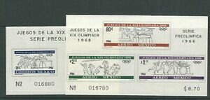 MEXICO 1966 for the 1968 Mexico OLYMPICS (Sc 975a C320a) VF MH