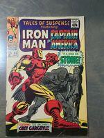 Tales of Suspense #95  FN-VG (1967) Marvel Comics~Iron Man Captain America