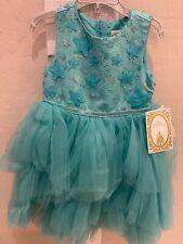 NWT Disney Store Boutique ARIEL LITTLE MERMAID Princess Dress Costume Size 7/8
