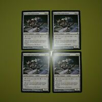 Porcelain Legionnaire x4 New Phyrexia 4x Magic the Gathering MTG